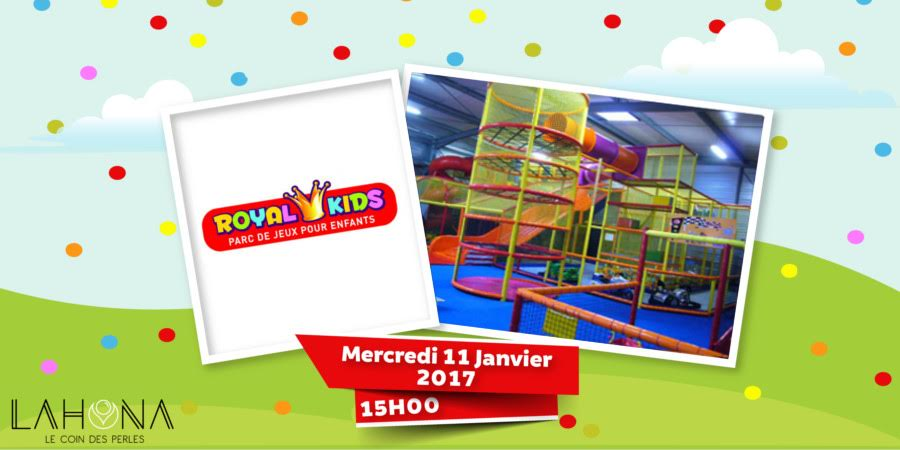 sortie au Royal kids