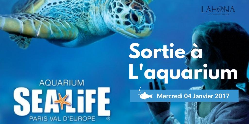 Visite à l'aquarium